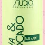STUDIO Professional Бальзам увлажняющий для волос с маслами авокадо и оливы