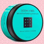 BEAUTIFIC Шампунь-скраб для кожи головы Ocean Vibes с морской солью, маслом арганы и витамином B3